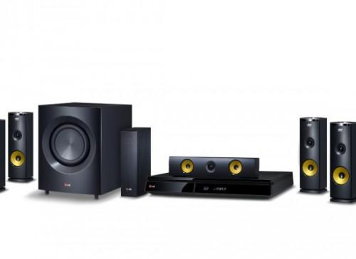 Blu Ray Home Theater System Wireless Rear Speakers