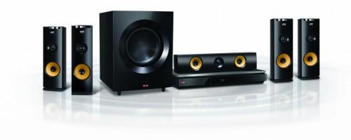 Blu Ray Home Theater System Wireless Rear