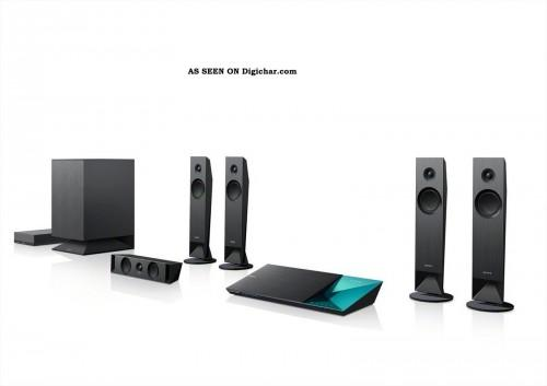 Blu Ray Home Theater System Wireless Speakers