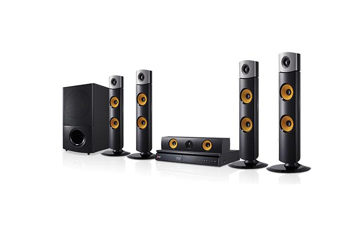 Blu Ray Home Theatre System Black