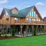Blue Ridge Log Cabins Jocasse Home Plan Ext
