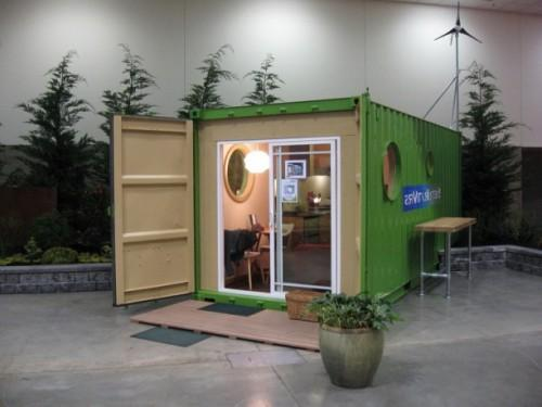 Box Cargo Container Homes Green Seattle