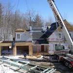 Box Huntington Homes Modular Being Set Day
