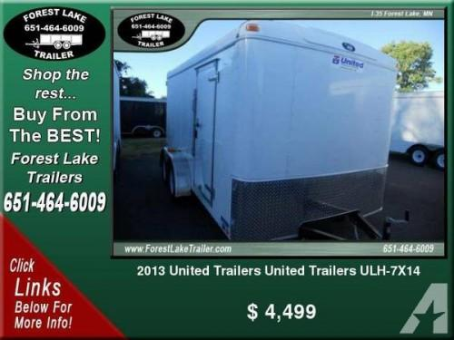 Brand New Enclosed Trailer Sale Forest Lake Minnesota