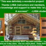 Build Log Cabin Yourself