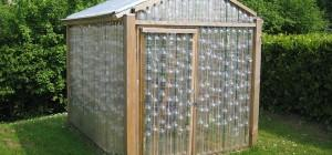 Build Plastic Bottle Greenhouse