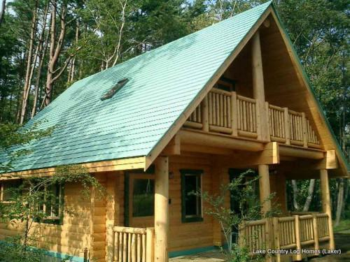 Build Small Log Cabin Kits Laker