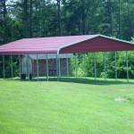 Build Standing Roof Over Mobile Home