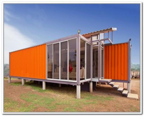 Build Storage Container House