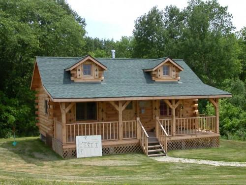 Build Your Log Cabin Home