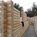 Build Your Own Log Home Our Laminated Snap Together
