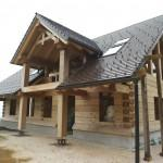 Built Moore Log Timber Homes Own Filippo Pierini Home
