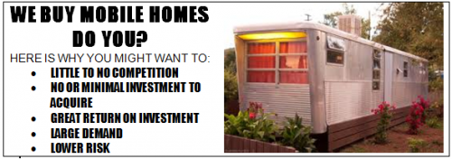 Buy Mobile Homes Learn Invest