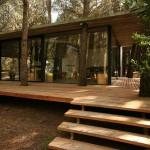 Cabin Plans Sloping Roof Design Eco Friendly House Designs