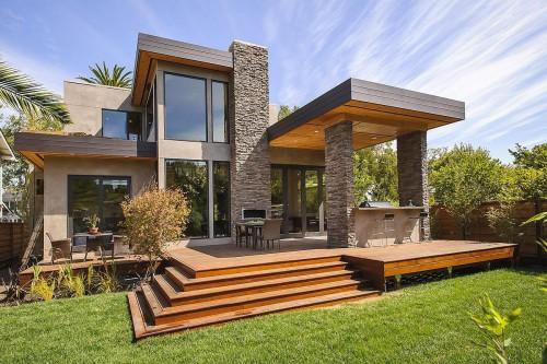 California Modern Home Design Interior Prefab