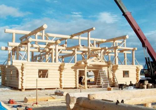 Canadian Log Homes Construction