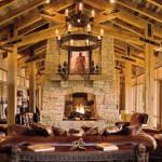 Canadian Log Homes Rustic Decor
