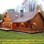Canadian Log House Cypress