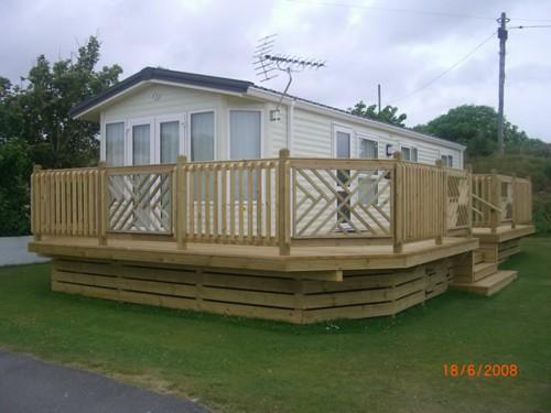 Caravan Decking Lodge Mobile Home Decks Cornwall