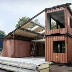 Cargo Container House Design Features Bright Home Interiors