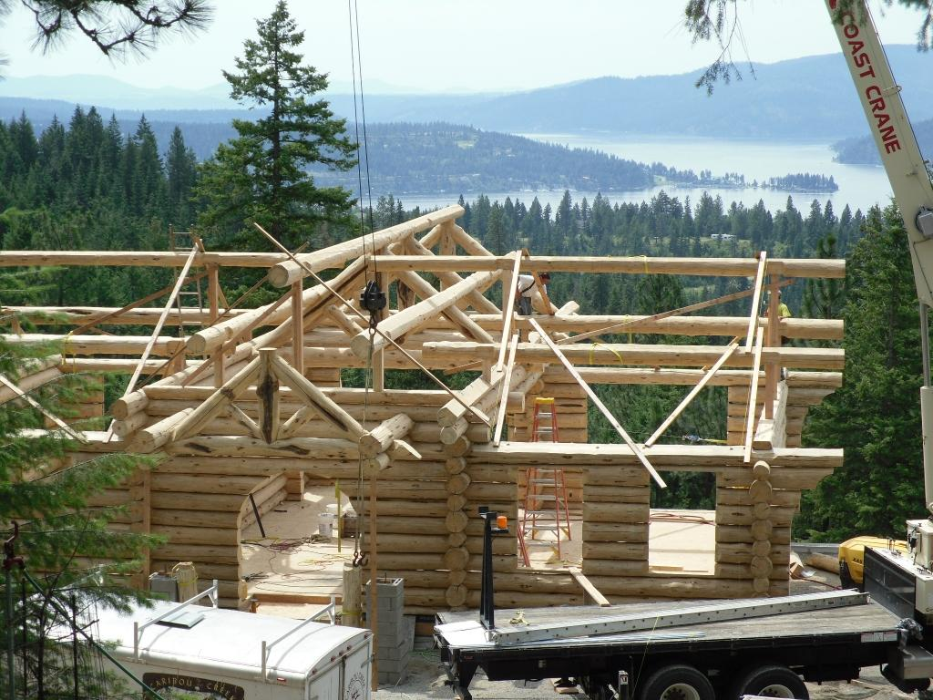 Caribou Creek Log Package Handcrafted Home Construction