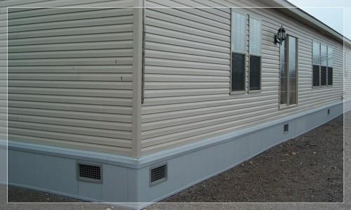 Carports Our Process Mfd Home Skirting Manufactured
