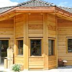 Cedar Dovetail Log Home Switzerland