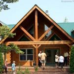 Celebrity Log Homes Cabins Owned Celebrities