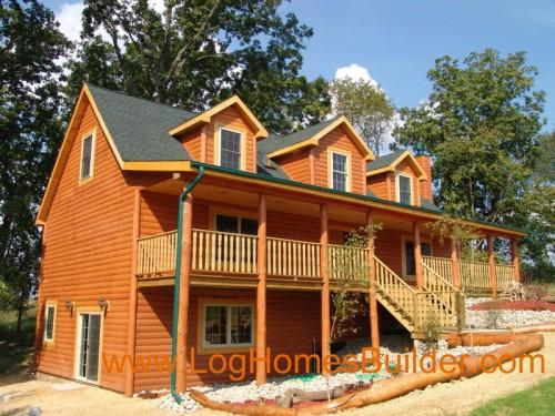 Chalet Feature Pre Manufactured Some Modular Log Cabins Prefab