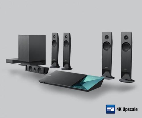 Channel Blu Ray Home Theater System Wireless Rear Speakers