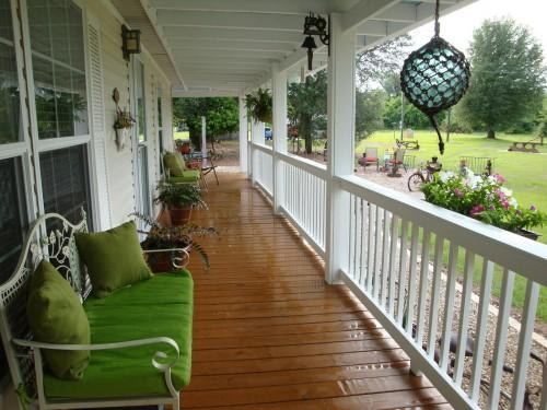 Chic Decks Front Porch Design Mobile Homes