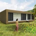 Choose Very Small Modernist Prefab House