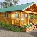 Classy Log Wood Modular Small Homes Facade Exterior Home Decor