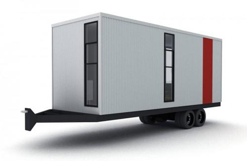 Clearspace Homes Trailer Tiny House Back