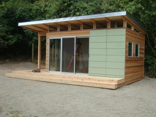 Coastal Modern Shed Client Projects