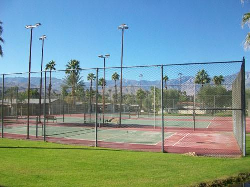 Colony All Age Mobile Home Park Rancho Mirage Tennis