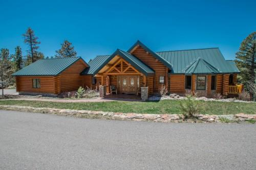 Colorado Mountain Log Home Sale Conifer