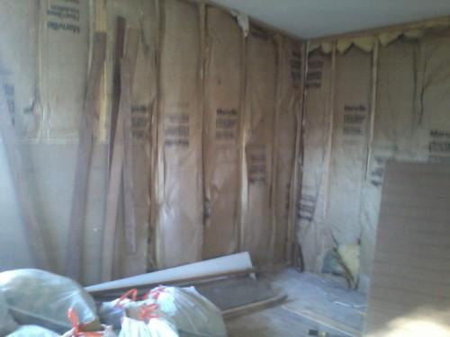 Complete Mobile Home Remodel Insulation