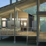 Composite Custom Prefabricated Porch Houses Designed