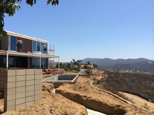 Connect Homes Prefab Home San Diego Nearing Completion