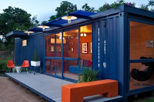 Container Guest House Credit Chris Cooper