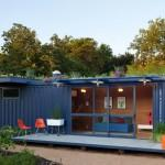 Container Guest House Poteet Architects Find Shipping Homes