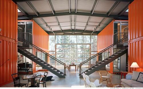 Container House Cleverly Called Designed