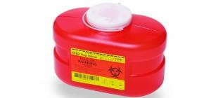 Container Sharps Red