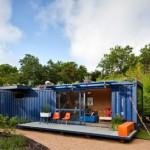 Corrugated Steel Shipping Containers Double Duty Housing