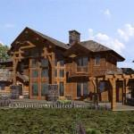 Cost Dakota Drawn Mountain Accent Home