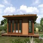 Cost Prefab Homes Steel Green