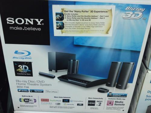 Costco Price Cut Sony Blu Ray Home Theater System Bdv