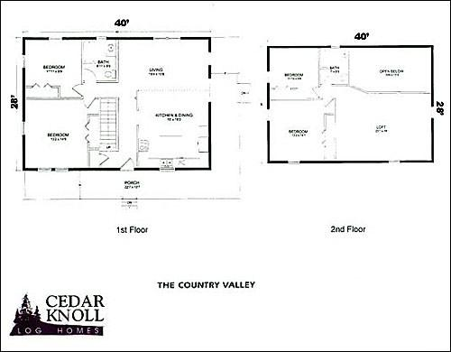 Country Valley Four Bedrom Log House Situated Lakefront