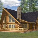 Crested Butte Rustic Log Home